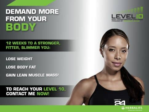 Independent Herbalife Member | Level 10 Body ...
